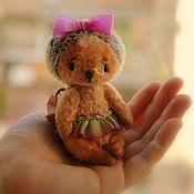 Куклы и игрушки ручной работы. Ярмарка Мастеров - ручная работа Ежик Тедди, 10см. Handmade.