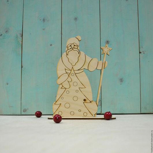 Декупаж и роспись ручной работы. Ярмарка Мастеров - ручная работа. Купить Дед Мороз, заготовка для росписи. Handmade. Бежевый