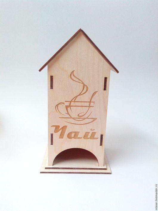 ИвЛазер IVL-113-3 Чайный домик заготовка для декупажа и росписи
