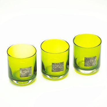 Souvenirs and gifts handmade. Livemaster - original item Set of glasses