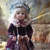 Куклы и игрушки ручной работы. Ярмарка Мастеров - ручная работа Репродукция стариной куклы.Для примера. Handmade.