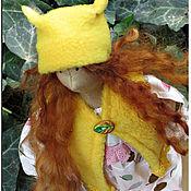 Куклы и игрушки ручной работы. Ярмарка Мастеров - ручная работа Кукла в стиле Тильда Белла. Handmade.