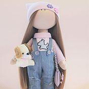 Куклы и игрушки ручной работы. Ярмарка Мастеров - ручная работа Модная малышка. Handmade.