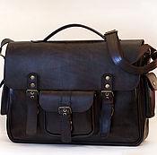 Мужская сумка ручной работы. Ярмарка Мастеров - ручная работа Большой мужской кожаный планшет. Handmade.