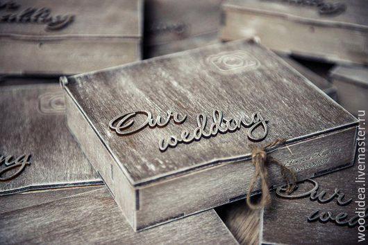 Подарочная упаковка ручной работы. Ярмарка Мастеров - ручная работа. Купить Коробочка для фотографа. Handmade. Белый, свадебные аксессуары