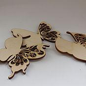 Дизайн и реклама ручной работы. Ярмарка Мастеров - ручная работа Бабочка с ажурным крылом. Handmade.