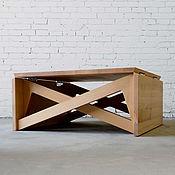 Столы ручной работы. Ярмарка Мастеров - ручная работа Журнальный столик трансформер CofeDin. Handmade.