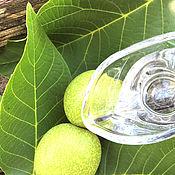 Косметика ручной работы handmade. Livemaster - original item Tonic WALNUT. Leaves, fruit, milky stage. Handmade.
