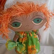 Куклы и игрушки ручной работы. Ярмарка Мастеров - ручная работа Рыжулька. Девочка, ждущая весну... текстильная кукла. Handmade.