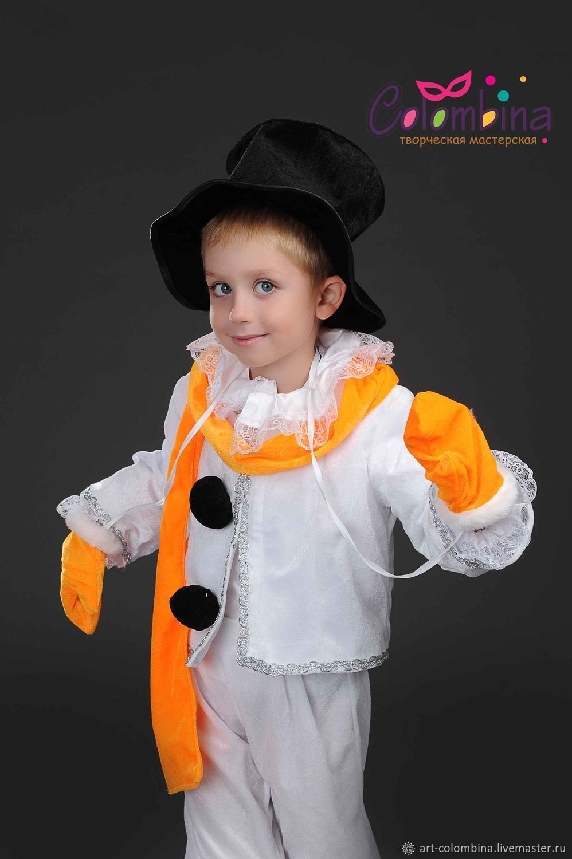 Как сделать костюм снеговика видео фото 252