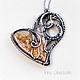 Pendant 'The Love Is...'. Pendants. Taniri Jewelry. Online shopping on My Livemaster.  Фото №2