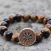 Украшения handmade. Livemaster - original item Viking bracelet - Vegvisir. Handmade.