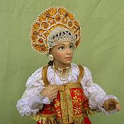 Куклы и игрушки handmade. Livemaster - original item Marya Tsarevna. Handmade.