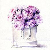 Pictures handmade. Livemaster - original item Watercolor