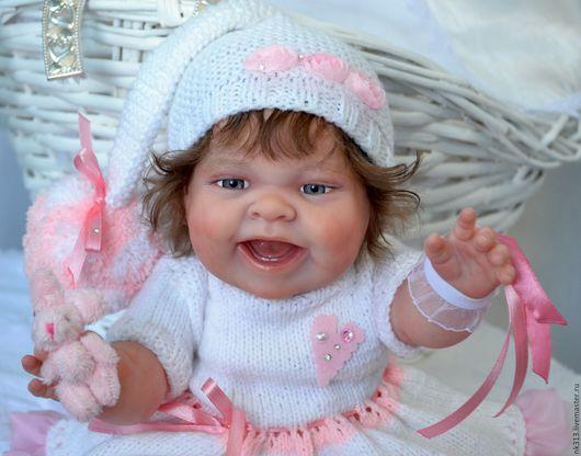 """Одежда для кукол ручной работы. Ярмарка Мастеров - ручная работа. Купить """"Розовые сны-3"""". Одежда для куколок. Handmade. пряжа"""