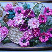 Картины и панно ручной работы. Ярмарка Мастеров - ручная работа цветы в подарок. Handmade.
