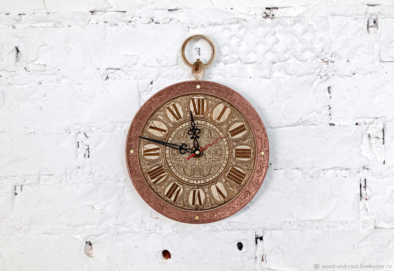 Часы для дома ручной работы. Ярмарка Мастеров - ручная работа. Купить Часы Белого Кролика настенные. Handmade. Кролик, подарок