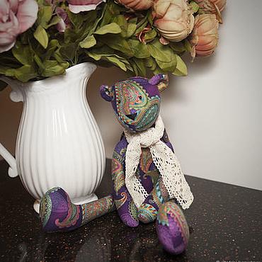 Куклы и игрушки ручной работы. Ярмарка Мастеров - ручная работа Мишка в стиле Тильда.. Handmade.