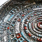 """Посуда ручной работы. Ярмарка Мастеров - ручная работа керамическое блюдо """"Вселенная"""". Handmade."""