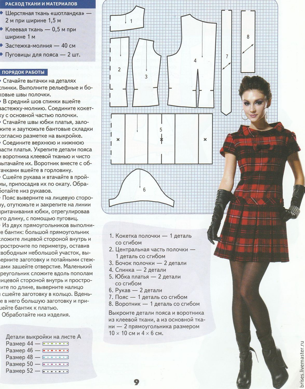 Сшить платье для куклы любого роста Одежда для куклы 23