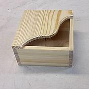 Материалы для творчества ручной работы. Ярмарка Мастеров - ручная работа салфетница деревянная. Handmade.