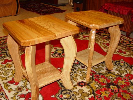 Мебель ручной работы. Ярмарка Мастеров - ручная работа. Купить Табурет из ясеня (крепче дуба). Handmade. Коричневый, натуральное дерево