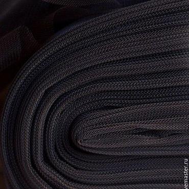 Материалы для творчества ручной работы. Ярмарка Мастеров - ручная работа Евро-фатин оригинальный матовый 3-метровый тёмно-шоколадный. Handmade.