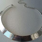 Украшения ручной работы. Ярмарка Мастеров - ручная работа колье серебряное. Handmade.