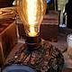 """Освещение ручной работы. Заказать Настольная лампа """"Светлячок"""". Дизайн-мастерская EcoShiningHome (eco2014). Ярмарка Мастеров. Стильный подарок"""