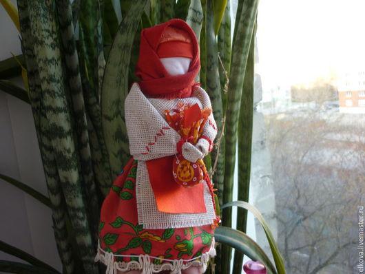 Народные куклы ручной работы. Ярмарка Мастеров - ручная работа. Купить берегиня дома.. Handmade. Ярко-красный, народная традиция