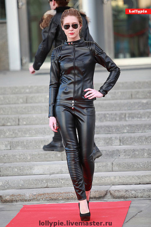 Black Leather Jacket, Outerwear Jackets, Moscow,  Фото №1