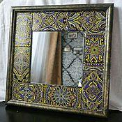 Для дома и интерьера ручной работы. Ярмарка Мастеров - ручная работа Настенное зеркало « Восточные орнаменты». Handmade.