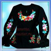 """Блузки ручной работы. Ярмарка Мастеров - ручная работа Блуза """"Маки"""". Handmade."""