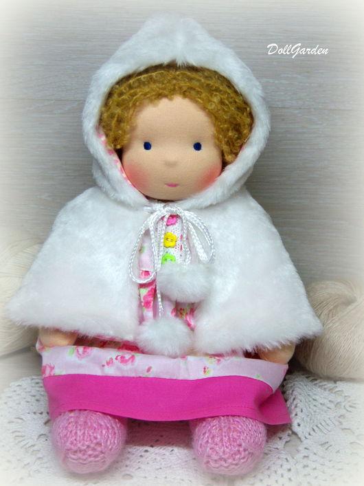 Вальдорфская игрушка ручной работы. Ярмарка Мастеров - ручная работа. Купить Анечка, вальдорфская кукла. Handmade. Вальдорфская кукла