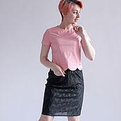 Одежда handmade. Livemaster - original item Pleated skirt black. Handmade.