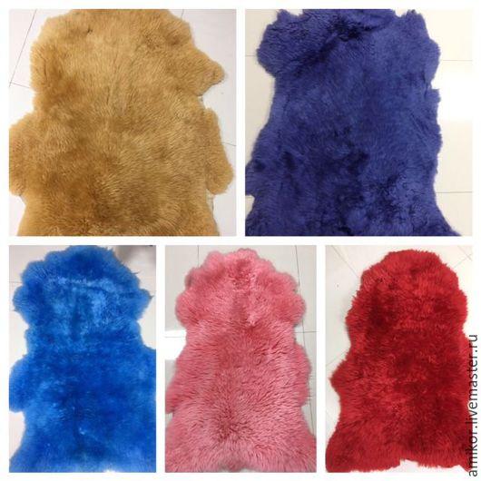 Текстиль, ковры ручной работы. Ярмарка Мастеров - ручная работа. Купить Шкура овечья 115-130/65-80. Handmade. Овчина