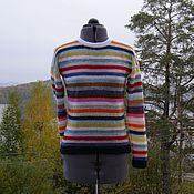 """Одежда ручной работы. Ярмарка Мастеров - ручная работа """"Создающий настроение"""" джемпер. Handmade."""