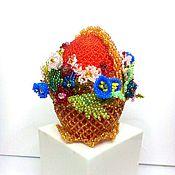 Eggs handmade. Livemaster - original item Egg Souvenirs from beads. Handmade.