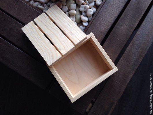 Корзины, коробы ручной работы. Ярмарка Мастеров - ручная работа. Купить Деревянный ящик под покраску или роспись. Handmade.