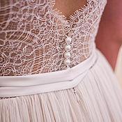 Свадебный салон ручной работы. Ярмарка Мастеров - ручная работа Cвадебное платье. Handmade.