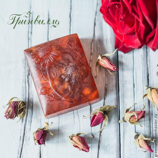 Мыло ручной работы. Ярмарка Мастеров - ручная работа. Купить Натуральная роскошь - розовое мыло. Handmade. Коралловый, розовое мыло