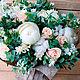 Букет из живых цветов Айвори