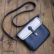 Сумки и аксессуары handmade. Livemaster - original item Crossbody bag: Women`s leather bag Silver. Handmade.