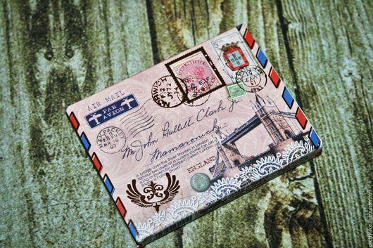Записные книжки ручной работы. Ярмарка Мастеров - ручная работа. Купить Блок для записей блокнотик в винтажном стиле Лондон. Handmade.