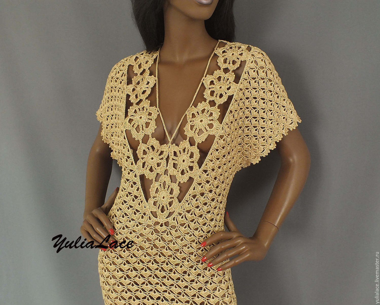 Купить Вязаное платье в интернет магазине на Ярмарке Мастеров