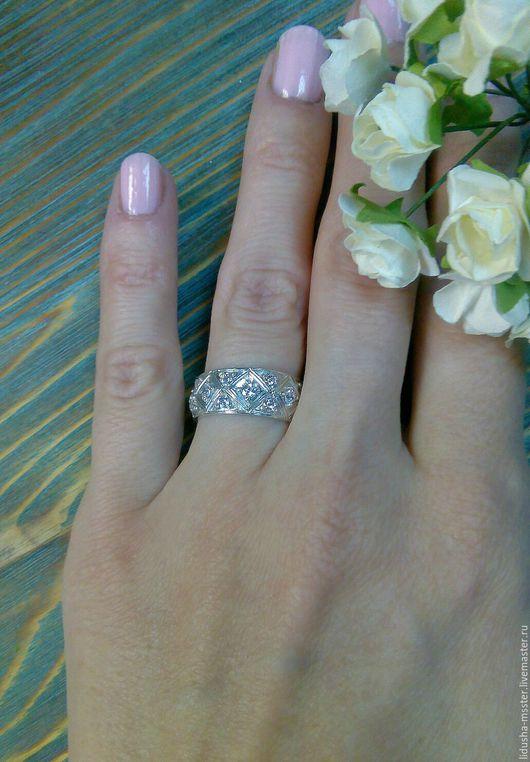 Кольца ручной работы. Ярмарка Мастеров - ручная работа. Купить Кольцо Невеста. Handmade. Широкое кольцо, обручальное кольцо