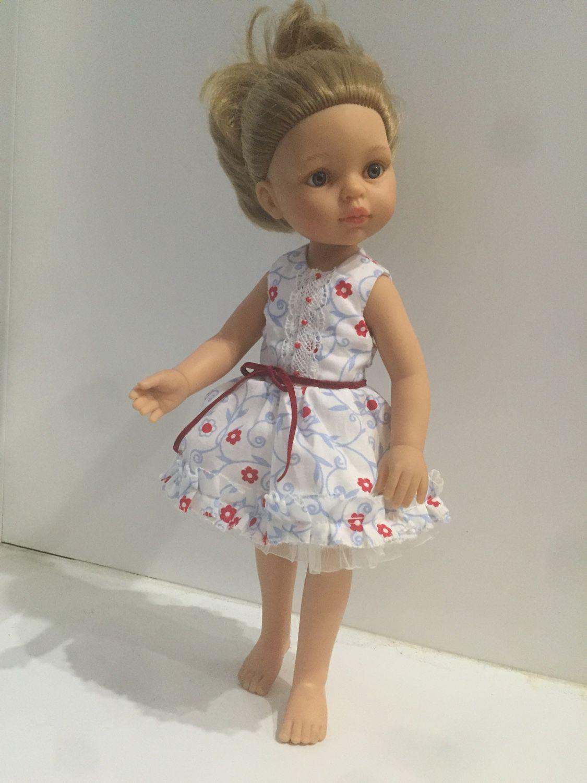 Платье для кукол паола рейна