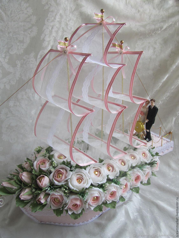 конфетный букет на свадьбу фото идейный