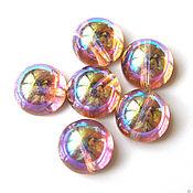 Материалы для творчества handmade. Livemaster - original item Beads glass cabochons Czech Republic 4 colors. Handmade.