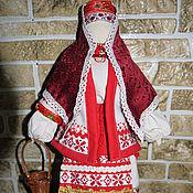 кукла в русской народной одежде